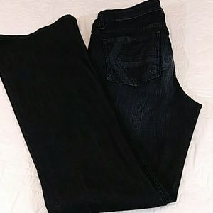 Out from the Kloth Dark Wash Boot Cut Jeans Sz 8